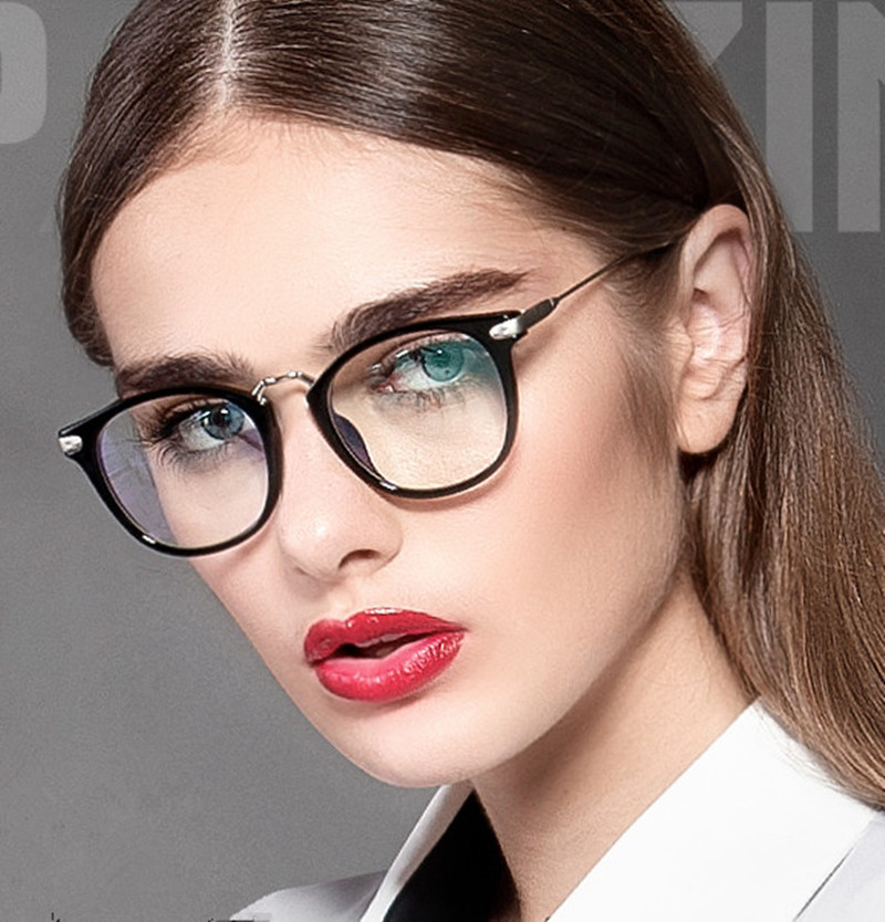 popular womens eyeglasses  Aliexpress.com : Buy Vintage Brand Design Eyewear Frames Female ...