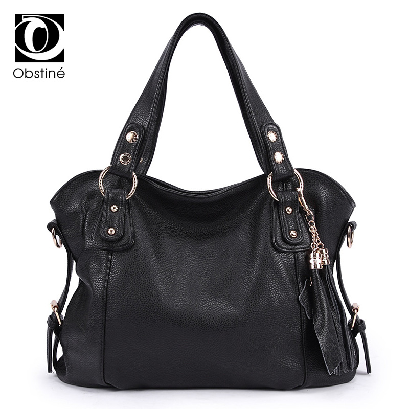 цены 2017 Women Messenger Bags Handbag Over Shoulder Tote Crossbody Big Sale Brand Sling Leather Black Designer Female Bolsas Bag