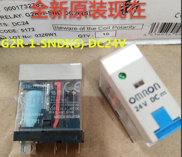 HOT NEW relay G2R-1-SNDI(S) DC24V 24VDC G2R-1-SNDI-DC24V G2R-1-SNDI-24VDC G2R-1-SNDI DC24V 24VDC DIP5
