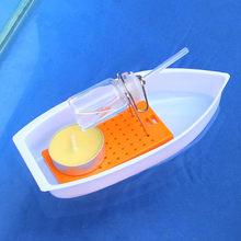 Atacado funuy física ciência experiência caseira steamboat tecnologia equipamento experimental diy navios a vapor
