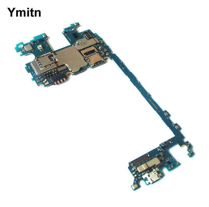 Ymitn Débloqué Mobile Électronique panneau carte mère Carte Mère Circuits Câble Pour LG V10 F600 H961 H962 H968 VS990 H900 H901 H960A