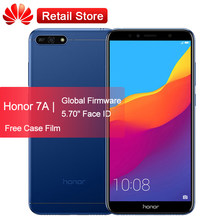 "Huawei Honor 7A Play смартфон 2 ГБ 32 ГБ 5,7 ""Snapdragon 430 Android 8,0 Octa Core 13MP камера 3000 мАч Face ID эксклюзивные купоны(China)"