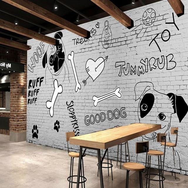 Custom 3D Wallpaper Custom Restaurant Decoration Mural Hand