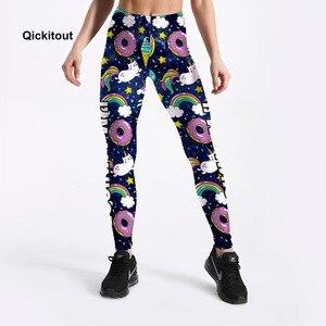 Image 3 - 2018 חמה למכירה קיץ נשים חותלות מכנסיים סופגניות חמודה חדי קרן מודפס חותלות ילדה בתוספת גודל S XXXXL