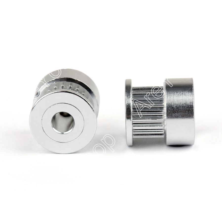 Buy Areyourshop Sale 2pcs Gt2 20t 5mm Bore Aluminum Timing Belt Pulleys Stock Pulley For 3d Printer Parts From Reliable