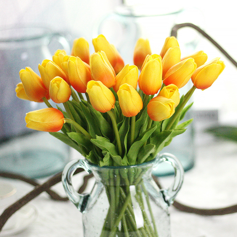 Detail Feedback Questions about 10PCS Artificial Tulips Fake Flowers ... 56de23aa9b