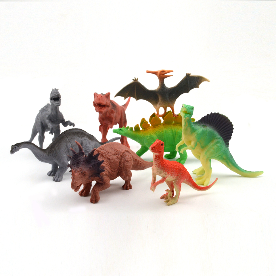 Dinosaur Action & Toy Figures Animal Model Collection Learning & Educational Kids toys For Boys Gift acrocanthosaurus dinosaur toy model classic toys for boys children gift 302329