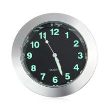 CARCHET Motorcycle Handlebar Clock Mount Watch Waterproof SV Useful Silver Billet Aluminum Motorcycle Handlebar Clock