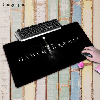 Congsipad Game of Thrones 900x400mm Large Locking Edge mouse notbook computer mouse pad gaming padmouse gamer to keyboard mouse