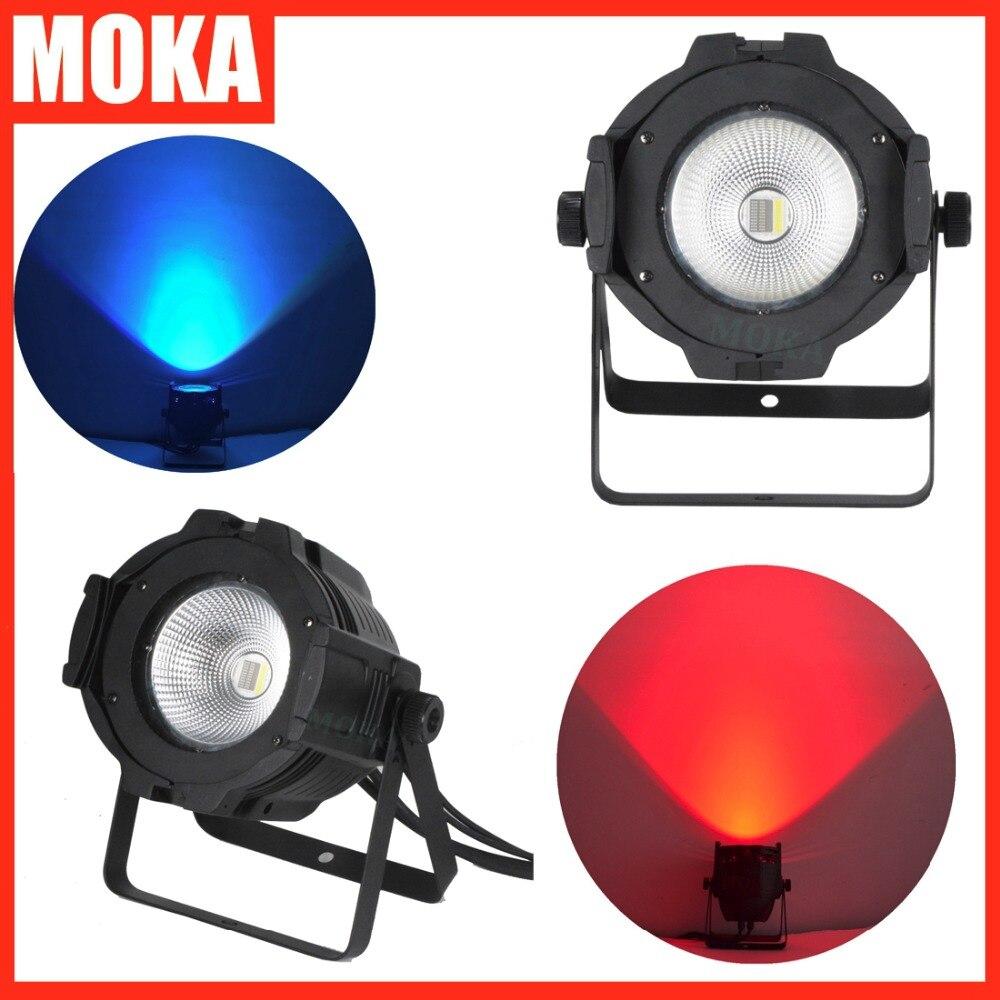 8 pcs/lot LED COB Par lumière dmx scène dj LED par rgbw 4IN1 lampe spot lumière LED scène lumière spectacle projecteur