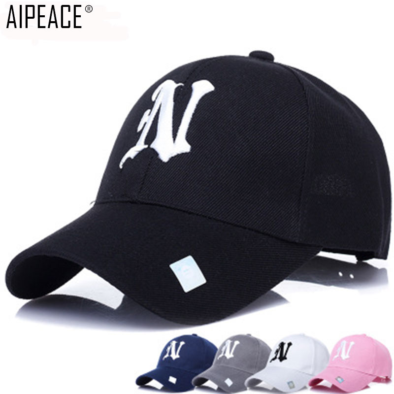2019 Newest Adult Black Adult women Casual   Baseball     Cap   Fashion Snapback Hats For Women office lady Black Sport Gorras Ny My   Cap