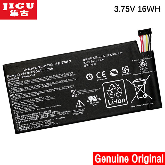 Free shipping  C11-ME370TG CII-ME370TG Original laptop Battery For Asus Google Nexus 7 for MeMo Pad ME172V 3.75V 16WH