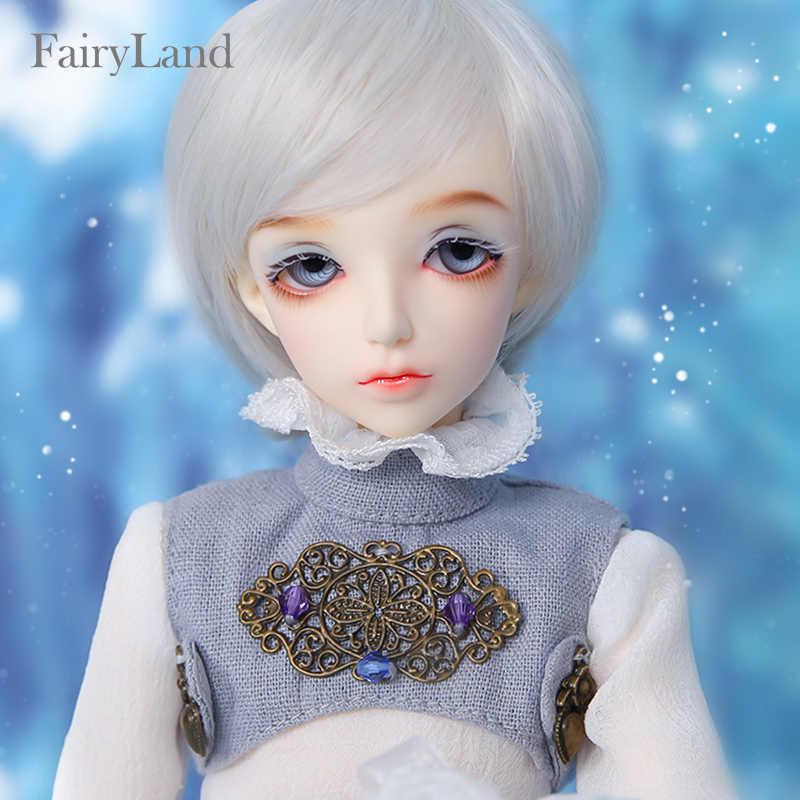 Fairyland minifee niella 1/4 bjd bonecas fullset menino msd iplehouse luts dollmore bluefairy alta qualidade brinquedos resina luodoll