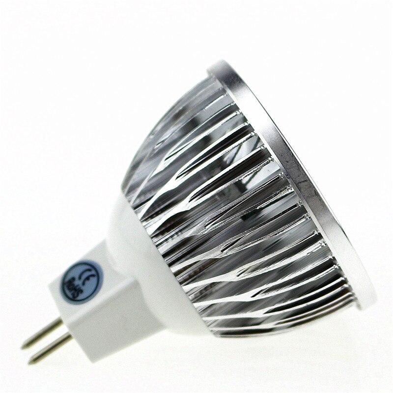 50X Супер Яркий Светодиодный точечный светильник MR16 12 V Коб 9 Вт, 12 Вт, 15 Вт, Светодиодный лампа warmcool белый светодиодный светильник - 2