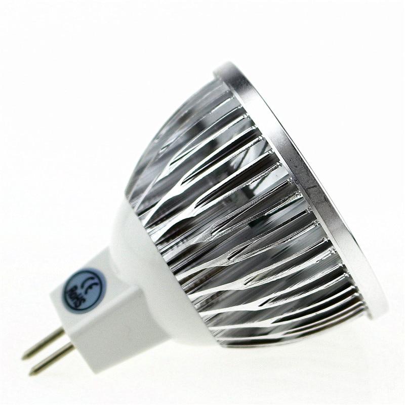50X Super Heldere Lampada LED Spotlight MR16 12 V COB 9 W 12 W 15 W LED Gloeilamp WarmCool witte LED Verlichting - 2