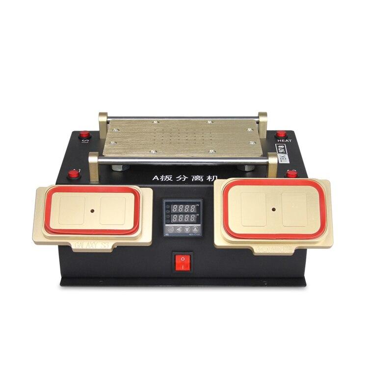 ФОТО TBK 3 in 1 Multifunction Preheater Station+Middle Bezel Frame Separator Machine+Vacuum Screen Separator Machine