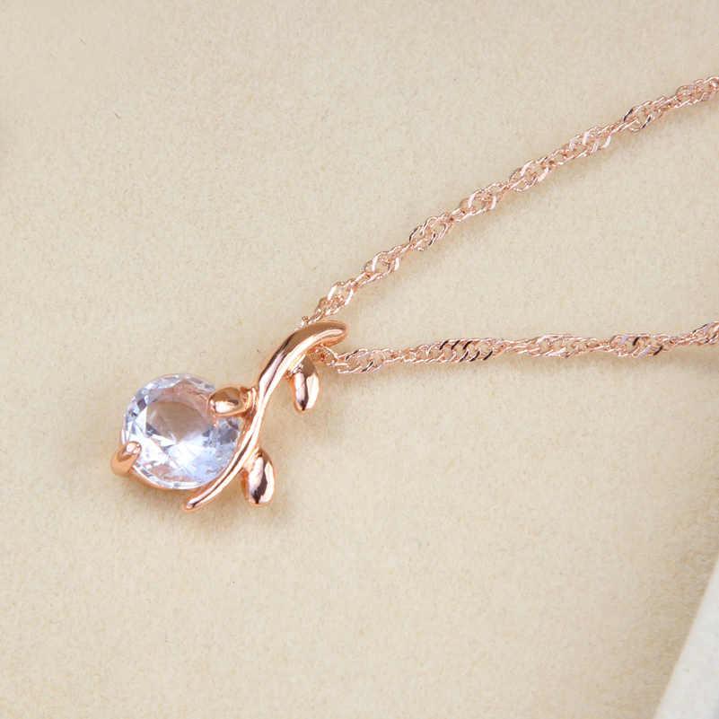 Alta qualidade elegante cor de ouro cristal austríaco pingentes colares brincos conjuntos de jóias de noiva para mulher