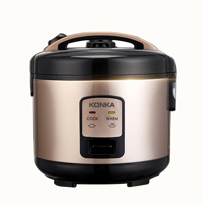 3L Electric Rice Cooker Beach Rice Hot Cereal Cooker Slow Cooker, Rice Cooker, Steamer,Yogurt Maker and Warmer EU plug electric digital multicooker cute rice cooker multicookings traveler lovely cooking tools steam mini rice cooker