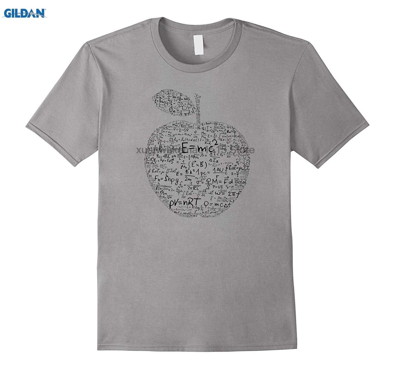 943204ee 100% Cotton O-neck printed T-shirt Equation TShirt Newton Einstein Funny  Physics