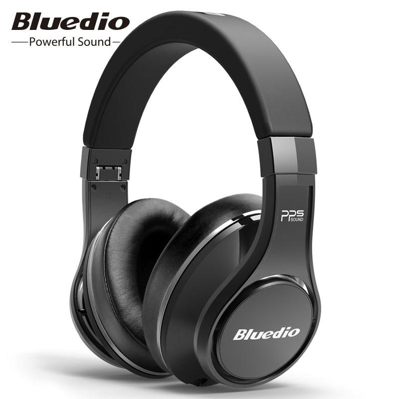 Bluedio UFO sans fil Bluetooth casque 2019 nouveau Intelligent réduction de bruit HIFI stéréo 8 haut-parleur professionnel musique casque