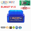 2016 Mini ELM327 Bluetooth V1.5 HW 25K80 ELM 327 OBD2 para Android Torque/PC Suporte Todos Os Protocolos de OBDII 12 Idiomas Gratuito navio