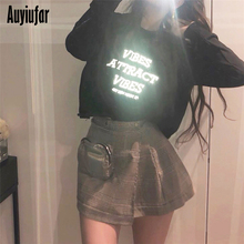 Auyiufar Reflective Sweatshirts Character Printed Casual Pullover Cool Loose Top Long Sleeve O-Neck 2019 Fashionable Sweatshirt