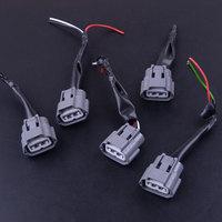 5 pçs bobina de ignição pacote cablagem conector plug apto para nissan altima sentra x trail 2001 2007 2008 2009 2010 2011 2012|Bobina de ignição| |  -