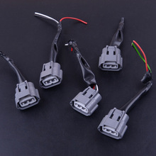 5Pcs Ignition Coil Pack Wiring Harness Connector Plug Fit For Nissan Altima Sentra X-Trail 2001-2007 2008 2009 2010 2011 2012