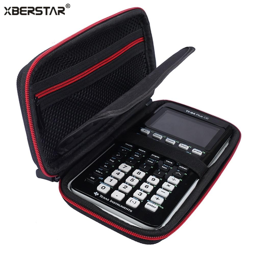 Жесткий Ева противоударный Carry футляр для хранения путешествия для Техас Инструменты ti-84 плюс ce/Цвет TI-83 плюс сумка защитный чехол коробка Н... ...