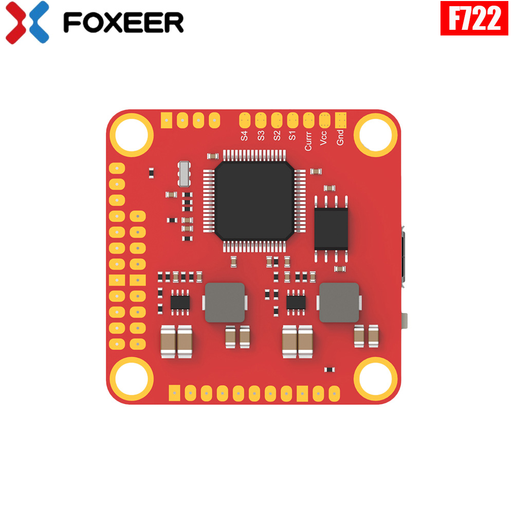 Foxeer F722 Dual Flight Controller STM32F722RGT6 MPU6000 and <font><b>ICM20602</b></font> OSD for RC FPV Racing Drone Quadcopter Spare Part DIY image