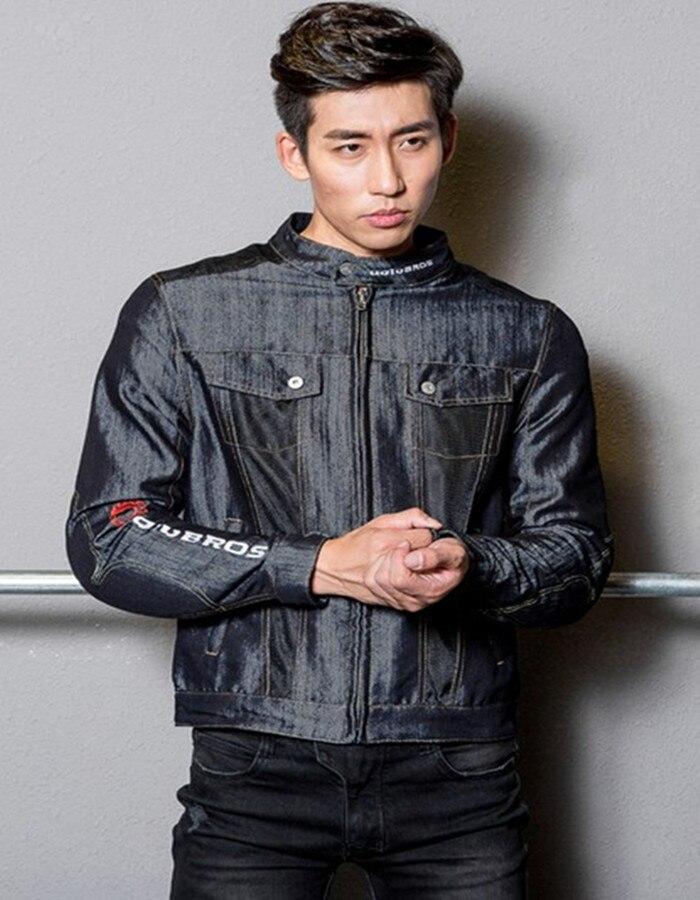Uglybros UBJ-105 été réseau hommes Jeans veste moto rcycle veste de protection moto veste veste de course