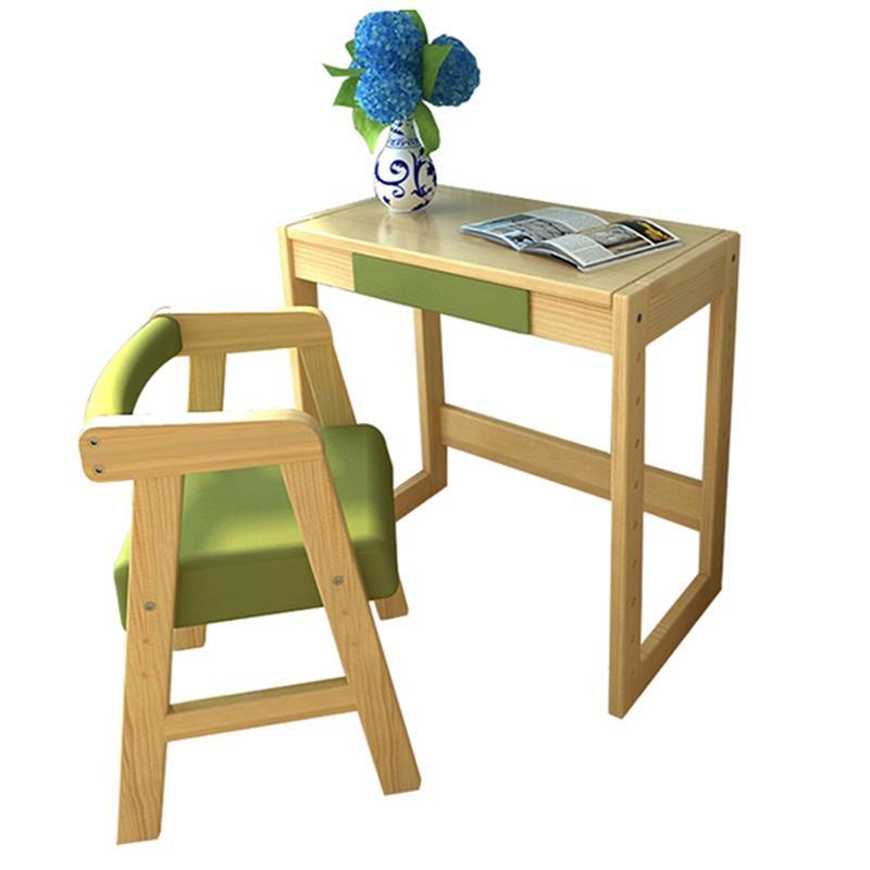 Children's learning wooden pupils desks writing and chair sets home multi-functional girls desk children s learning set writing desk chair sets student desks and chairs new