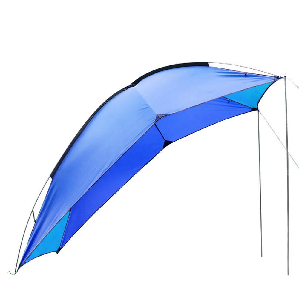Nueva tienda de campaña portátil al aire libre auto conducción Tour barbacoa multipersona Visor de lluvia Gazebo playa toldo carpa impermeable portátil - 3