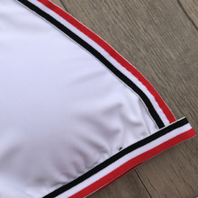 Bikini Women Swimwear White Beach Bathing Suit Triangle Swimsuit Micro Bikinis Set Adjustable Bottom Maillot De Bain
