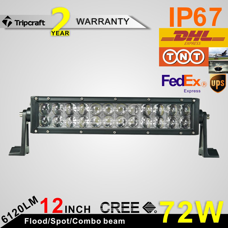 ФОТО 72W 4D  LED LIGHT BAR AUTO SPOT FLOOD BEAM WITH CRE E CHIPS FOR LED DRIVING OFF ROAD  DRIVING 4x4 TRUCK SUV SUPER HEADLIGHTS