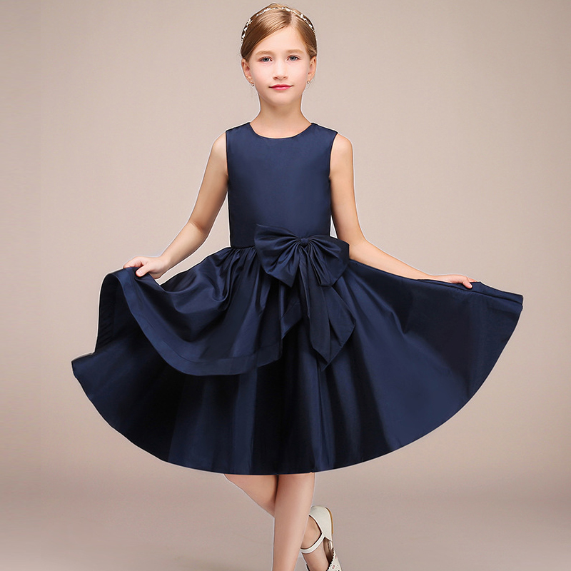 New   Flower     Girl   Wedding Evening   Dress   Children's Piano Show Dance   Dress     Girl's   Birthday Adult Banquet Party   Dress
