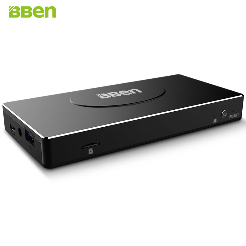 BBen MN17A Mini PC Windows 10 Intel Celeron Apollo N3450 Quad Core 4GB RAM TypeC LAN Mobile Business Stick PC Mini Computer