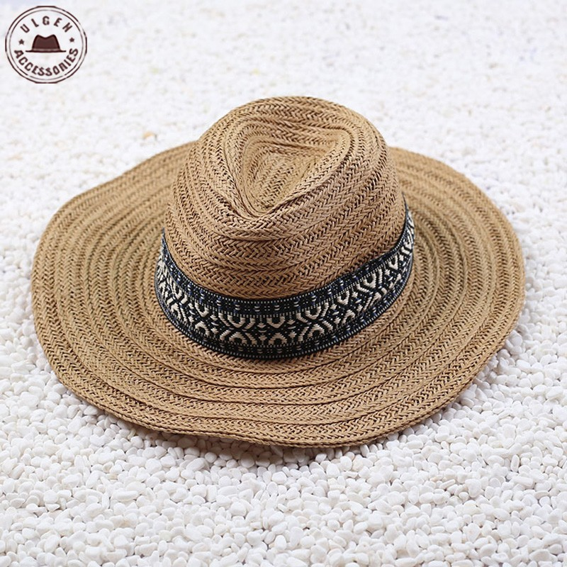 Grosir brown straw hat Gallery - Buy Low Price brown straw hat Lots on  Aliexpress.com d9a1c679e2