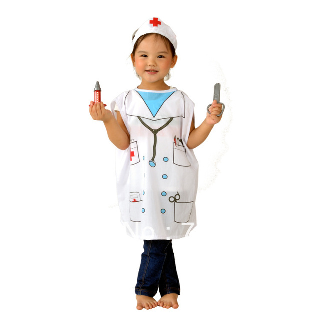 free shipping halloween dress up childrens game role in childrens nurse clothes professional clothing - Free Halloween Dress Up Games
