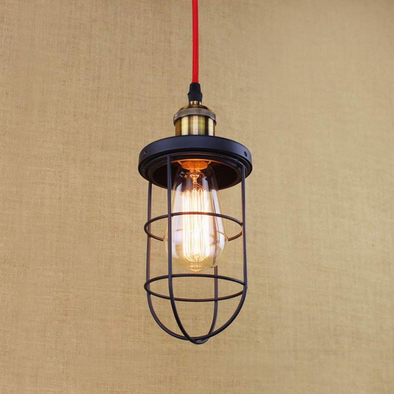 Nostalgic retro metal wire pendant lamp/Edison Simple lamp For Kitchen Lights Cabinet Living/dining room shop/coffee shop/office loft simple retro edison industrial clear glass metal pendant lamp lights for cafe bar dining room shop living room store decor