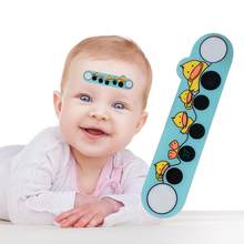 Baby Cartoon Animal Forehead Thermometers Sticker LCD Digital Strip Body Fever Kids Care Thermometer For Children(China)