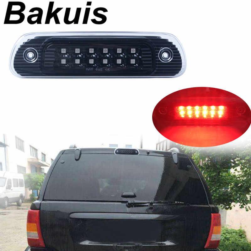 Третий красный дым/чистый задний стоп сигнал светодиодный фонарь автомобильная