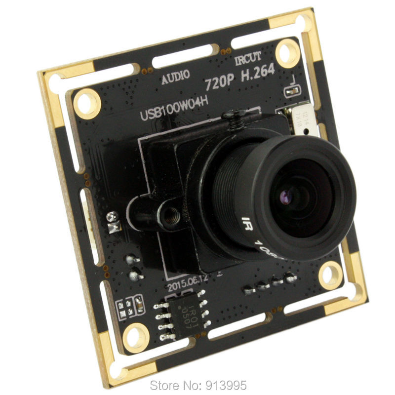5 pieces 720P MJPEG/YUY2 CMOS OV9712 H.264 2.8mm wide angle lens usb camera with microphone on board high q notch filter 50hz low frequency shift narrow band notch notch depth single resistance adjustable wide input