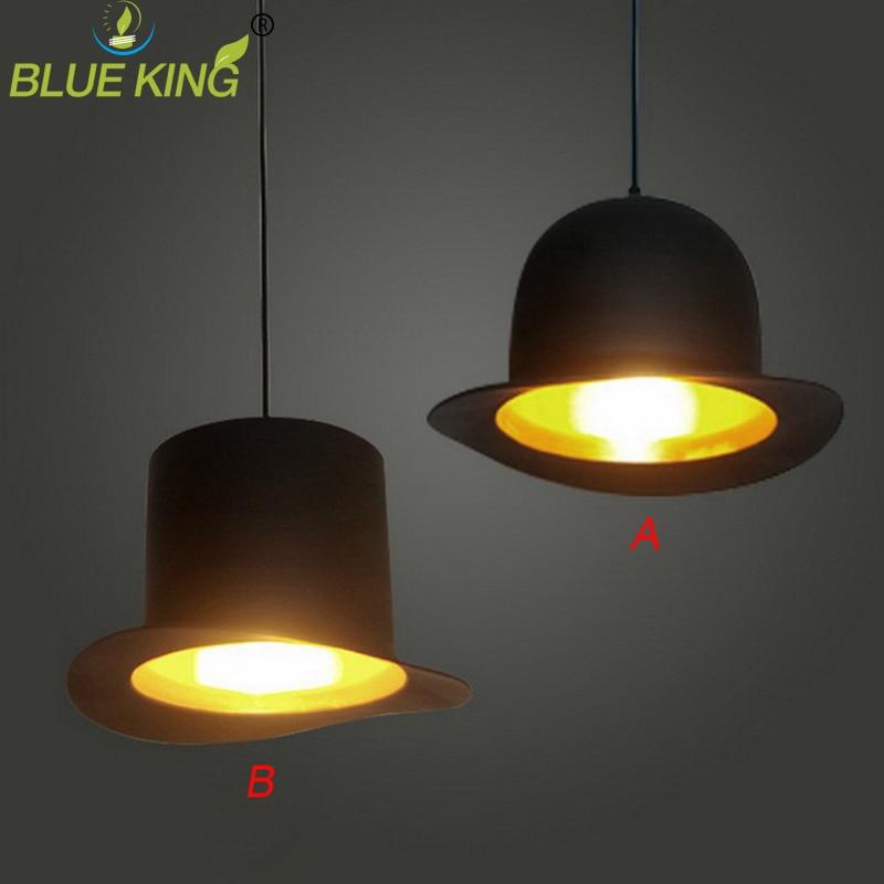 innovative lamps110v 220v e27 lamp holder Jeeves & Wooster Top Hat pendant Lights round aluminum hat lights nick wooster x leffot 2012 fall collection