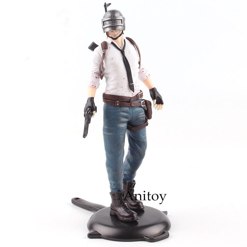 Playerunknown's BattleGrounds PUBG Men/Women GAME/BATTLE ROYALE PVC Action Figure Collectible Model Toy 17.5-18cm KT4785 battle royale