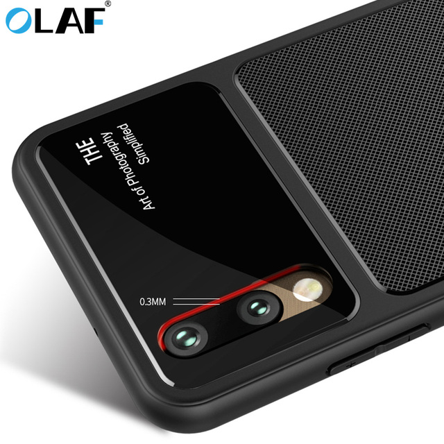 outlet store a1920 dbc67 US $5.7 |OLAF luxury Silicon Full Body Cases for Huawei P20 lite case Pro  Tempered Glass Camera Protection for huawei P20 Pro Nova case-in Fitted ...