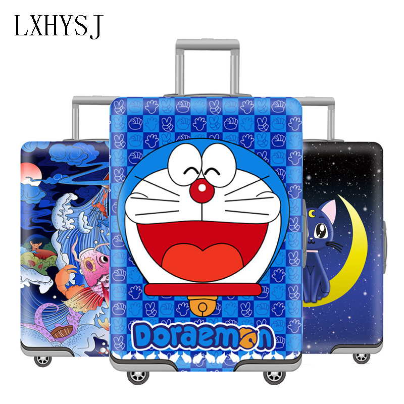 The New Elasticity Luggage Cover Suitcase Protective Sleeve Suitable For 18-32 Inch Suitcase Case Dust Cover Travel Accessories