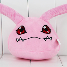 33cm New Arrival Japan Anime Digimon Plush Toy Koromon Stuffed Doll Brinquedo Gift For Kids Free