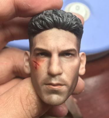 1/6 Scale Battele Damage Version Jon Bernthal Punisher Head Sculpt for 12'' Men Figures Bodies 1 6 scale male figure carving daredevil punisher jon bernthal head sculpt battle damage version model for 12 body