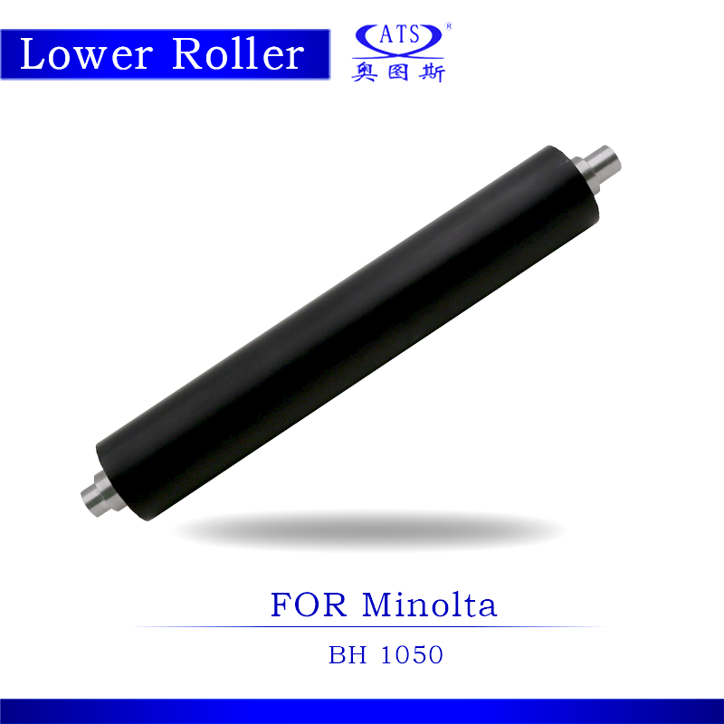 1PCS BH1050 Photocopy Machine Compatible Lower Fuser Roller For Konica Minolta BH 1050 Copier Parts Pressure Roller hot sale copier spare parts high quality copier sensor cassatte for minolta bh 283 photocopy machine part bh283